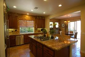 this kitchen has 9 foot ceilings and stacked ceiling height