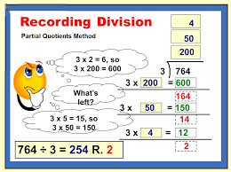 division with partial quotients this is more the process i liked