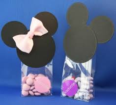 mickey mouse gift bags craft gift bags mickey and minnie mouse bowdabra