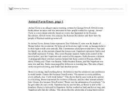 george orwell animal farm criticise russian