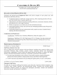 Resume Rn Examples by Cover Letter Med Surg Nurse Resume Med Surg Nurse Resume Example