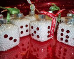dice ornament etsy