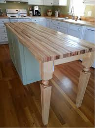 Kitchen Island Countertop Overhang Furniture Chic Kitchen Island Wood Posts For Breakfast Bar Leg