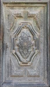 texture bronze plate door ornaments 2 metal ornaments lugher