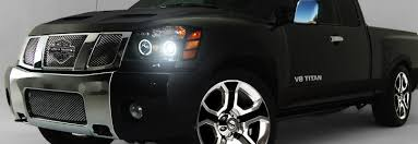 Nissan Titan 2004 Interior 2004 2012 Nissan Titan Angel Eye Halo U0026 Led Projector Headlights