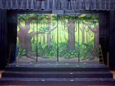 Jungle Backdrop Jungle Book Backdrops For Plays Jungle Backdrop By Tracy