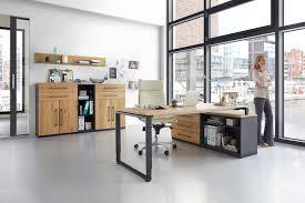 Chef Schreibtisch Röhr Objekt Pur Schreibtisch Eiche Metall Möbel Letz Ihr