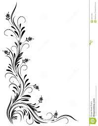 corner ornament stock vector image of sle ornate 22812456