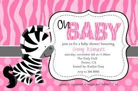 zebra baby shower pink zebra baby shower invitation template baby showers ideas
