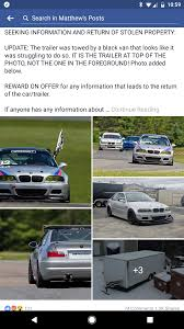 Seeking Trailer Canada Friend Of A Friend Had His One E46 M3 Race Car Stolen Let S