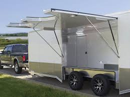 Cargo Trailer Awning Cargo Trailer Options Cargo Trailer Parts Look Trailers
