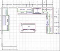 kitchen with island floor plans superior plans for kitchen islands 15x15 kitchen layout with