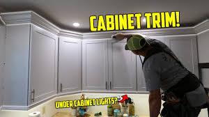 cabinet trim kitchen sink remodeling a kitchen a z part 14 cabinet lights trim and handles