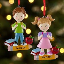 personalized christmas ornaments for kids at personal creations