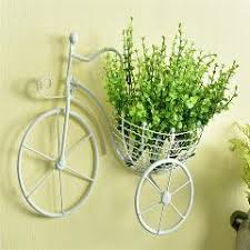 bonsai bicycle romantic garden pot hanging flower balcony garden