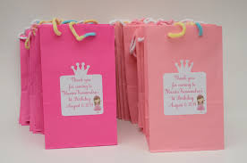 princess crown invitations door sign goody bags and gift tags