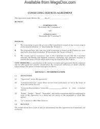 canada consulting contract and confidentiality agreement legal