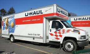 texas students load two 24 ft u haul trucks with supplies for west