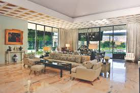 living room sunnylands estate house which features