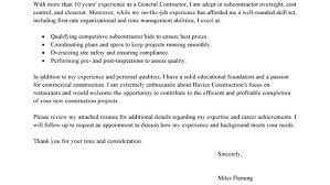 resume cover letter construction manager wonderful construction