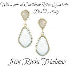 rivka friedman earrings susan s disney family timeless beautiful 18k gold designer
