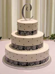 wedding cake decoration letter topper dotted and laces wedding cake ideas recipes