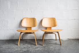 vintage eames lcw chairs 1st generation u2013 the good mod