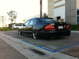 slammed lexus ls430 description lexus ucf30 ls430 rear bumper w lower carbon accent