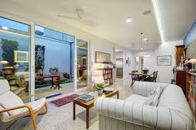 Courtyard Home Design An Energy Efficient Home Designed For Its Owners To Age In Place