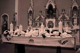 church altar decorations things wedding church altar decorations to pews at s