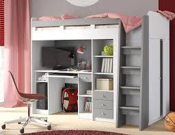 U Schreibtisch Hochbett Mit Schrank Und Schreibtisch