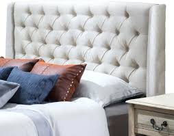 gray headboard upholstered curl upholstered headboard grey padded