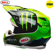 yellow motocross helmet 2018 bell moto 9 tomac replica monster energy motocross helmet