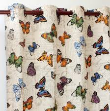 aliexpress com buy vezo home butterfly cotton linen