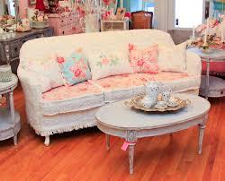Camelback Sofa Slipcover by Decor Lovely Shabby Chic Slipcovers For Enchanting Furniture