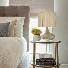 Tufted Linen Headboard by Button Tufted Linen Headboard Design Ideas
