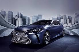 lexus lf fc concept 2016 geneva motor show evo