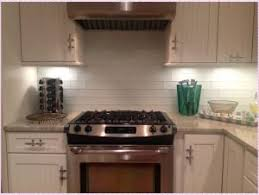 Backsplash Subway Tiles For Kitchen White Subway Tile Backsplash Design Florist H G