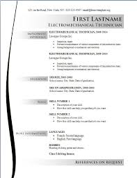 resume templates free 2017 free sle resume templates 2016 for electrician online free