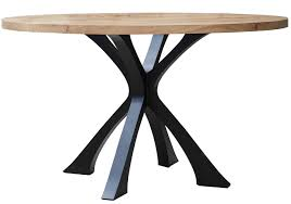 exe dining table round contemporary traditional transitional