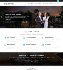 clean corporate wen themes