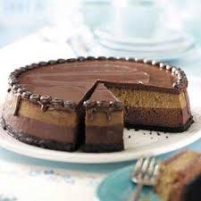 layered mocha cheesecake recipe taste of home