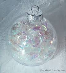 how to decorate clear plastic ornaments ornament