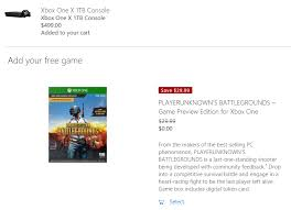 player unknown battlegrounds xbox one x free download xbox x free copy general discussion feedback playerunknown s