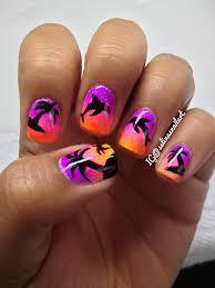 nail art designs palm tree u0026 dolphin nail art tutorial