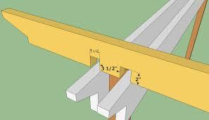 diy reception desk construction drawings pdf download free competitive pergola blueprints plans howtospecialist build step diy