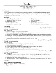 Resume Teamwork Example by Best Customer Delivery Teammate Resume Example Livecareer