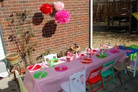 outside party strawberry shortcake party
