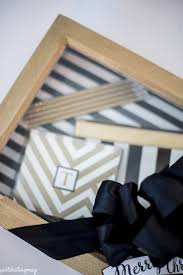tie box gift handmade gift idea shadow box gift package yellow bliss road