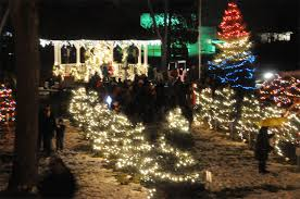 optimist club tree lighting sparkles westminster park presque